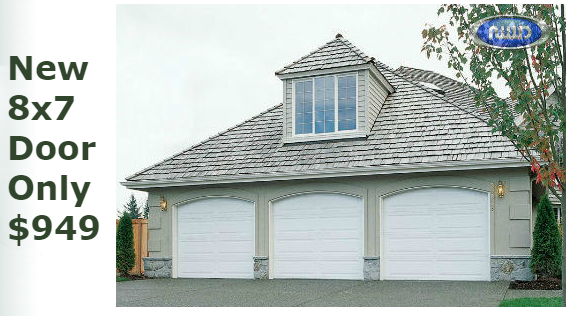 Garage Door Special   Limited Time Only!