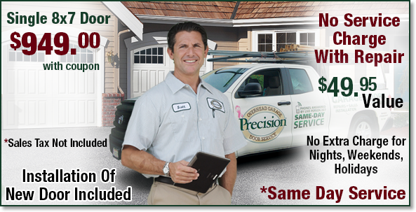Precision Garage Door East Bay Repair Openers New Garage Doors